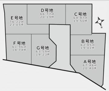大和田区割図